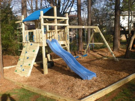 Backyard Climbing Structures by Backyard Play Structure Stuff