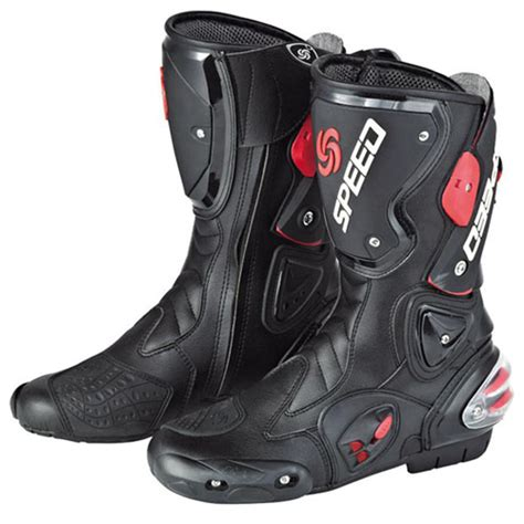 motocross boots for street new motorcycle street bike biker racing boots black size