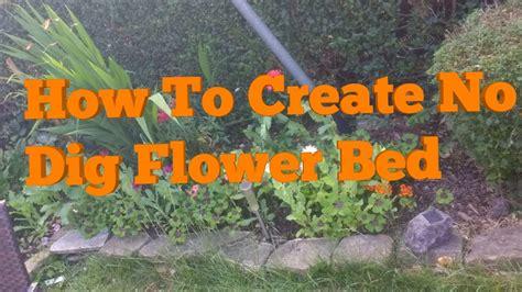 create   dig raised flower bed   eden