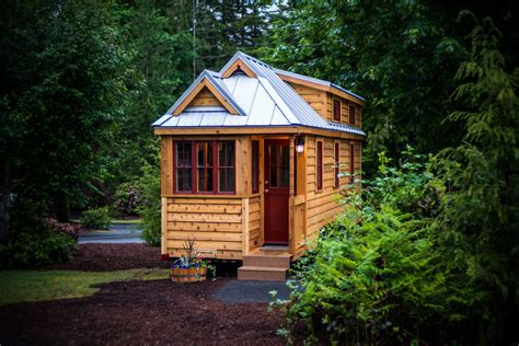 renting a tiny house quot lincoln quot tiny house rental at mt hood tiny house village