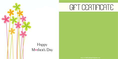 gift card template size large gift certificate template choice image certificate