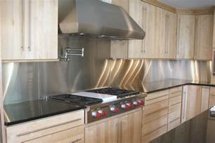 Kitchens With Stainless Steel Backsplash by Stainless Steel Backsplash Buy Quality Stainless Steel