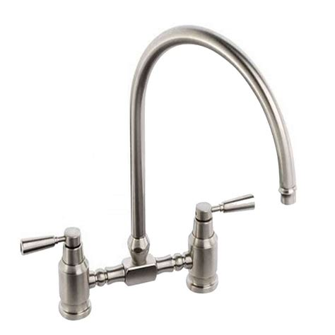 kitchen sink taps uk abode hargrave bridge brushed nickel tap at1146 kitchen