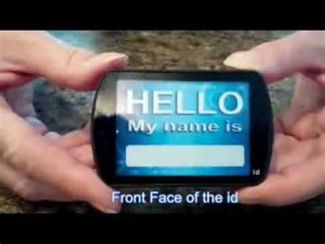 light up name badge light up name tags youtube