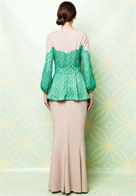 Baju Muslimah 9487 Sisuka Dress 88 best images about baju melayu on kebaya lace engagement dresses and kebaya