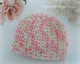 Lacy crochet baby hats free patterns