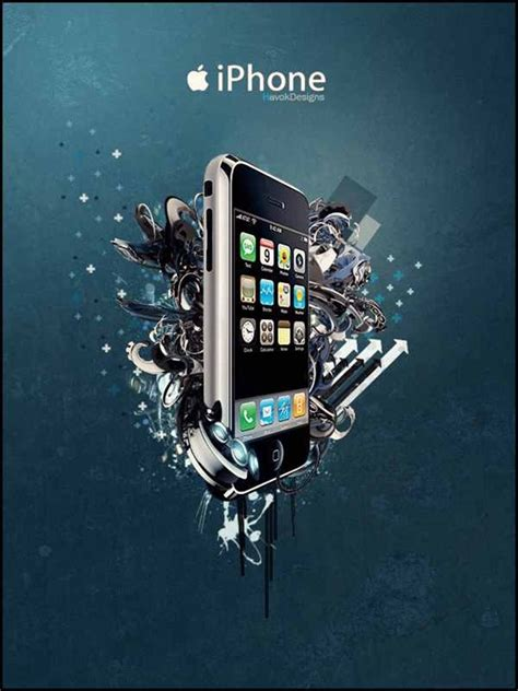 design poster on iphone 35 amazing photo manipulations in mobile phone ads