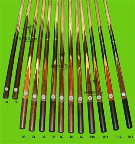 Handmade Snooker Cues For Sale - handmade ash wood 3 4 jointed billiard snooker cue for