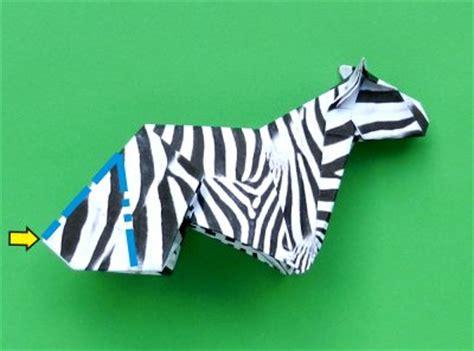 Origami Zebra - joost langeveld origami page