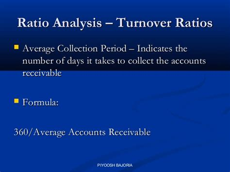 Credit Turnover Days Formula Corporate Finance Ibs