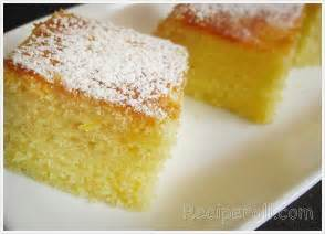 cake recipe lemon cake scratch recipe