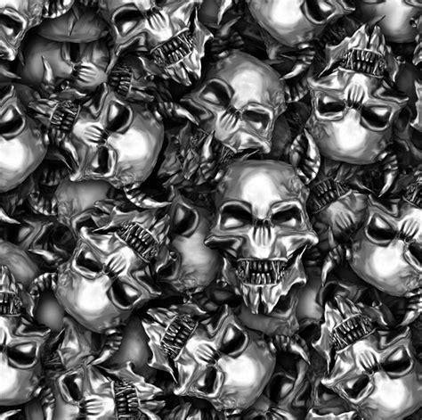Skull Hydro metal skulls infected homeinfected home