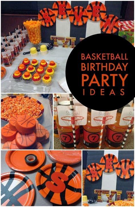 boys 10th birthday ideas basketball birthday ideas for boys www