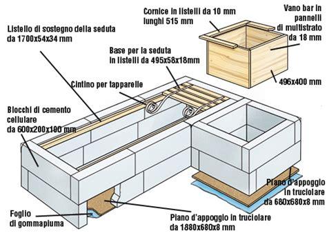 costruire un divano fai da te come costruire un divano di cemento cellulare