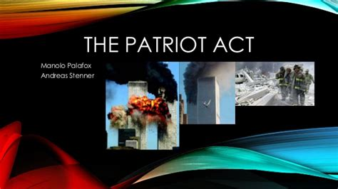 The Patriot Act