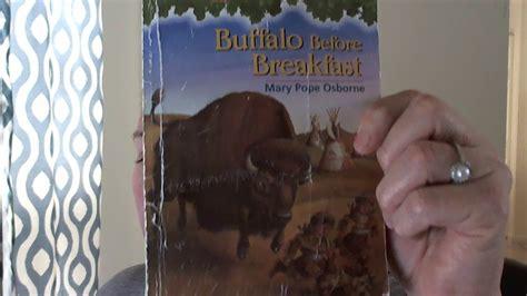 magic tree house 18 buffalo before breakfast book questions magic tree house 18 buffalo before breakfast youtube