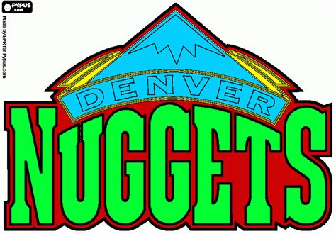 michael weinstein nba logo redesigns denver nuggets nuggets logo www imgkid com the image kid has it