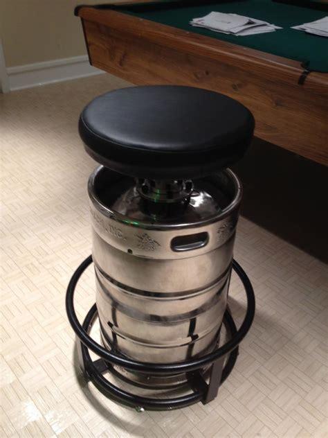 keg bar stools diy polished keg bar stool for sale unsorted ads prior