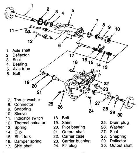 2000 gmc sonoma front differential parts diagram diagram auto wiring diagram chevrolet silverado 6 6 1999 auto images and specification