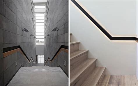 pasamanos de escaleras interiores ideas para decorar con barandillas y pasamanos integrados