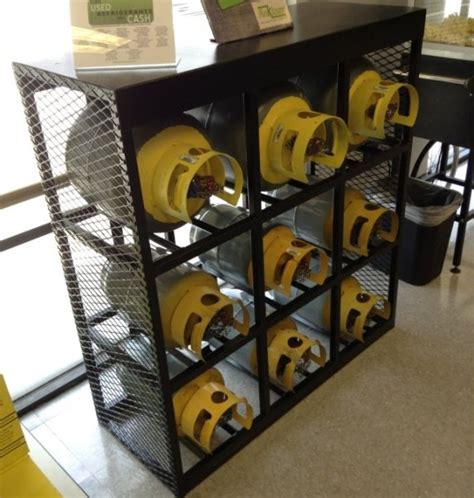 Freon Tank Rack by Air Conditioner Security Cage Gallery Many Styles To Choose From