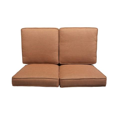 outdoor loveseat cushions fresh outdoor loveseat glider replacement cushions 23793