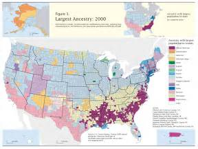 us census map data census 2000 data top us ancestries by county map us