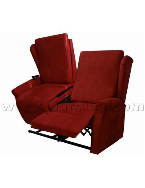 poltrone regolabili per anziani divano due posti una seduta alzapersona reclinabile un motore