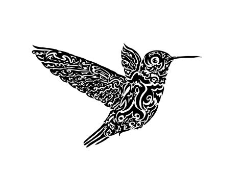 black and white hummingbird tattoo designs hummingbird design by beanbuscus on deviantart