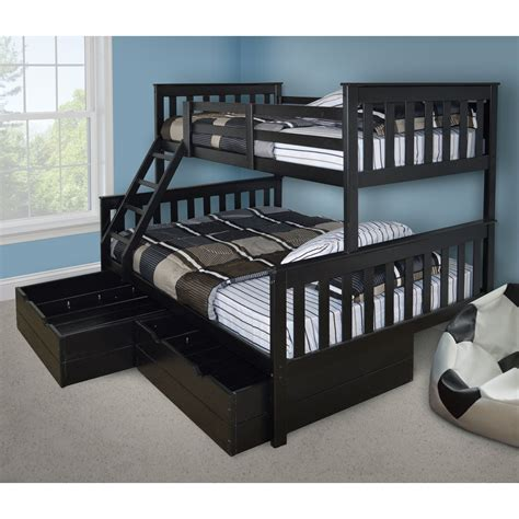twin size loft bed with desk double over twin bunk bed twin over full bunk beds for