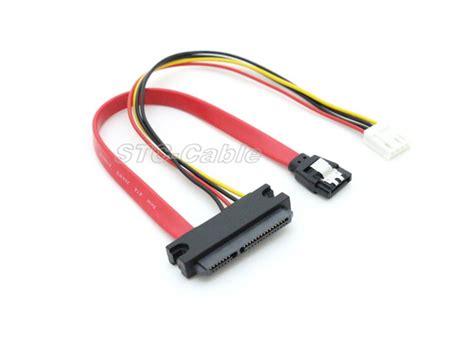 Kabel Power Sata Sambungan Power Sata Psu Chiny 22pin Sata Do Sata 7pin Z Lp4 Pin Kabel Dostawcy