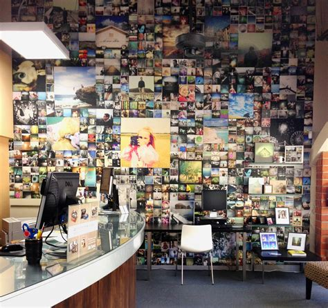 Route 66 Wallpaper Mural color services inspires with a unique photo collage wall