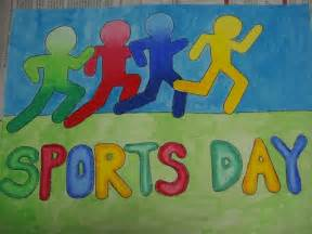 Sports Day Poster Template by Artists At Work Sports Day 2012 Poster