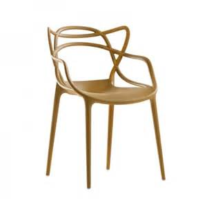 fauteuil masters de kartell moutarde