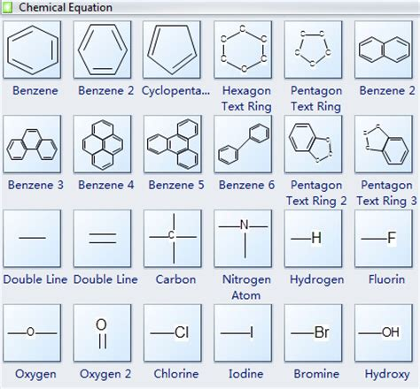 Equation Drawer chemistry equation drawing software