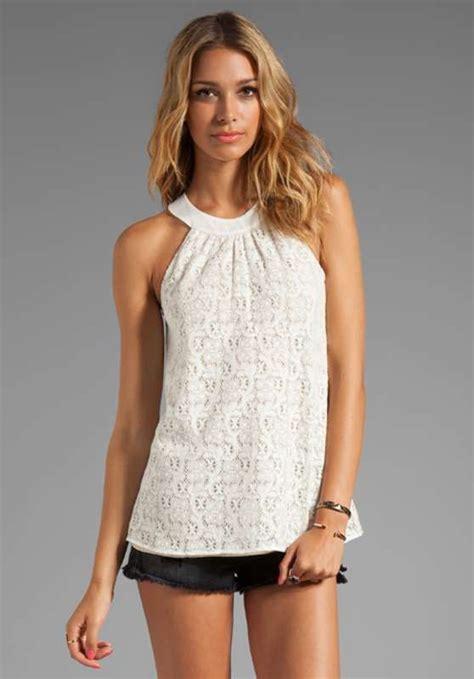 imagenes de blusas blancas juveniles ropa de moda para el verano 2018 fotos dise 241 os
