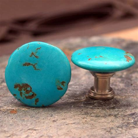 Turquoise Knobs by Turquoise Knobs Set Of 2 Cabinet Knobs By Knuckleheadknobs