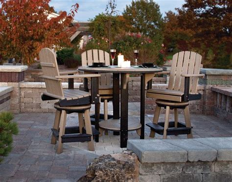 Poly Lumber Outdoor Furniture by Amish Poly Outdoor Dining Set From Dutchcrafters Amish