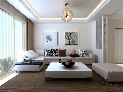 Small Minimalist Living Room by
