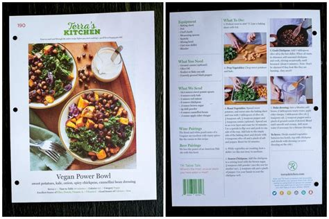 Terra S Kitchen Cost by Terra S Kitchen Meal Kit Review Vegan Power Bowls She