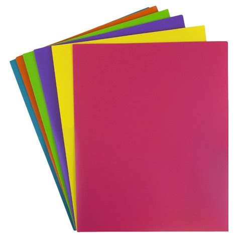 How To Make Paper Like Plastic - jam paper 174 plastic eco folders 6pk target