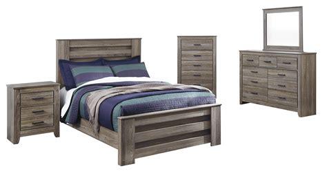 zelen warm gray full panel bedroom set cincinnati