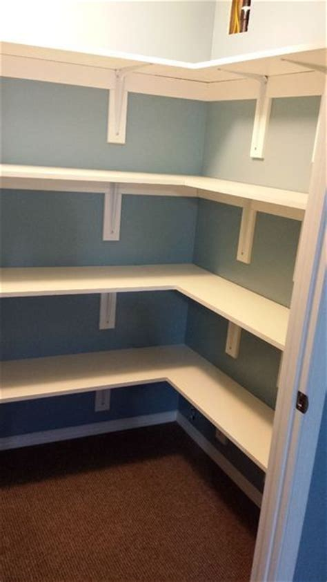 How To Put A Shelf In A Closet by 1000 Ideas About Building A Closet On Closet