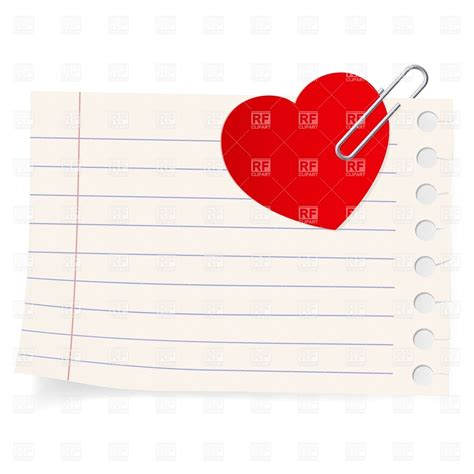 Love Note Clipart Clipart Suggest