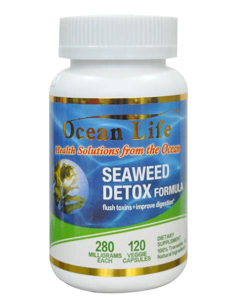 Seaweed Detox Pills by Omojohealth Usa Supplements