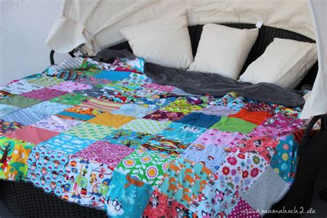 Patchwork Decke übergröße by Patchworkdecke So N 228 Hst Du Sie Aus Jersey Mamahoch2