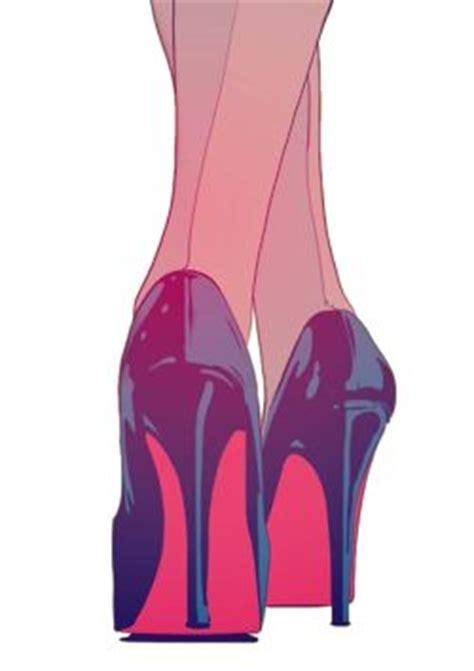 Terlaris High Heels Glitar Silver drawing fashion heels shoes black