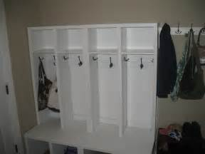 mudroom ideas diy ana white lockers for mudroom diy projects