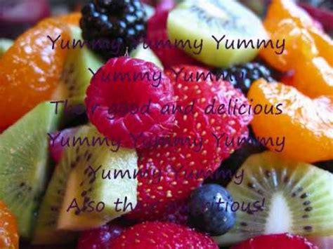fruit salad song fruit salad song original lyrics