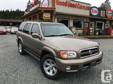 2002 nissan pathfinder for sale 2002 nissan pathfinder sale price for sale in cobble